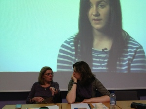 Rachel Russell and Emily Thomson led the discussion