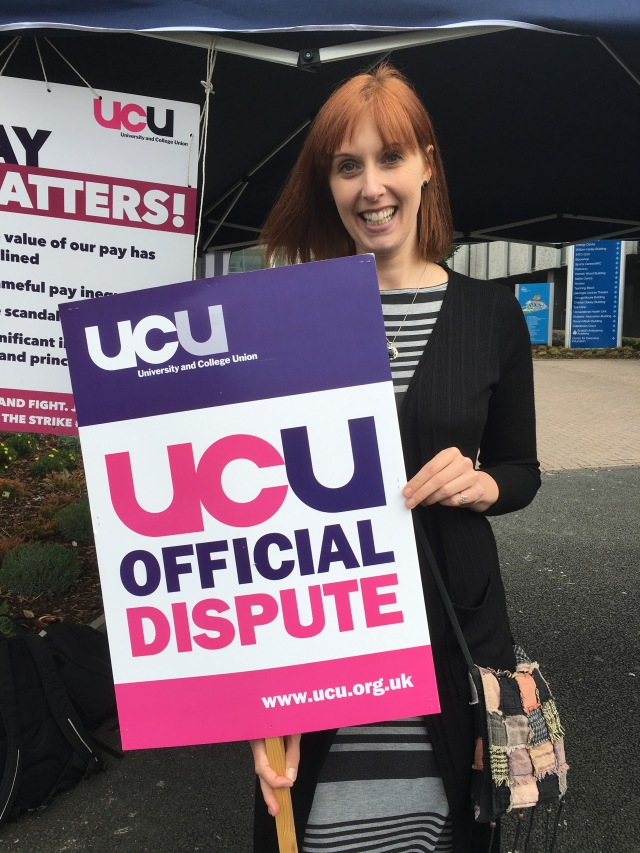 Welcome Natalie - one of several to join during the industrial action